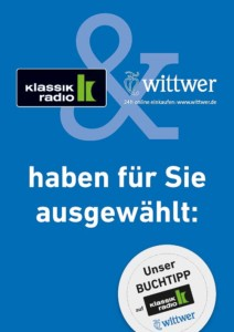 Wittwer Klassik Radio Büchertisch Plakat A3